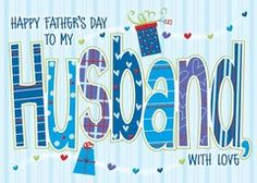 Hubby Father's Day Greeting Card