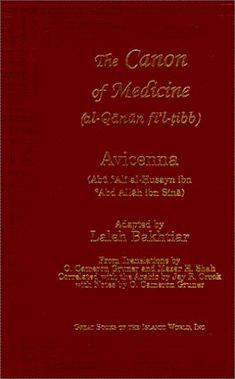 Canon of Medicine: Avicenna (Ibn Sina)
