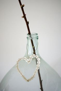 bottle necklace by Lammie Verkoopt via Wood and Wool Stool