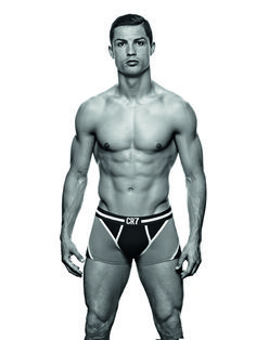 We swoon for super sexy soccer stud Cristiano Ronaldo! I think I'm going to watch soccer from now on
