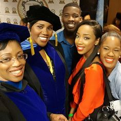 I was blessed to have my Soror Dr Felicia Shaw and my amazing kids with me to celebrate this incredible milestone in my life. #ApplesOfMyEye #SigmaWomen @jeffrollejr @keexoxo @iamniacherel