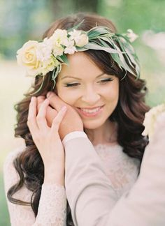 Wedding Hairstyles, Crown, Rustic, Accessories, Google, Fashion, Woman, Flowers, Country Primitive