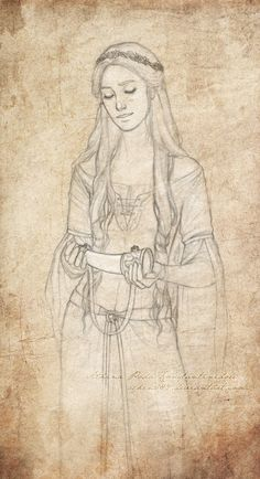Susan Pevensie Sketch by Achen089 Harry Potter, Portrait Au Crayon, Character Inspiration, Character Design, Susan Pevensie, Chronicles Of Narnia, Drawing People, Tolkien, The Hobbit
