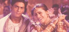 Even when it isn't a cutesy love scene. | 16 Reasons Shah Rukh And Kajol Are The Best Onscreen Couple To Ever Exist