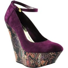 Towering heels.  <3.    Bakers - Lolita by Wild Pair