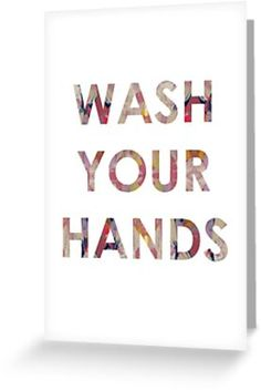 A friendly reminder to those around you to keep washing their hands during these strange times. We can all do our bit, pull together and get through it together. Free Stickers, Kraft Envelopes, Cool Cards, Card Sizes, Finding Yourself, Greeting Cards, Hands, Artists, Times