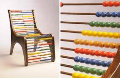 An Abacus chair - it may or may not be comfortable but it certainly looks cool and would keep the kids busy.