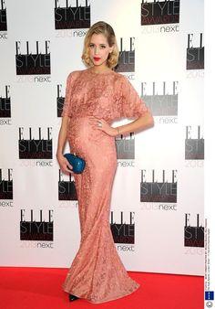 Gwiazdy w ciąży: Peaches Geldof na ELLe Style Awards, fot. East News