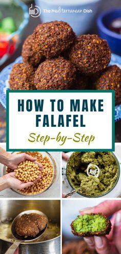 Best Falafel Recipe, Jewish Recipes, Greek Recipes, Vegetarian Recipes, Cooking Recipes, Healthy Recipes, Easy Recipes, Kitchens