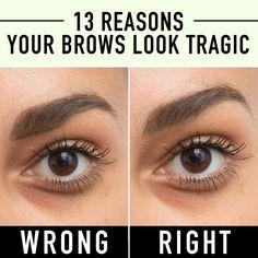 13 Reasons Your Eyebrows Look Tragic  - Cosmopolitan.com
