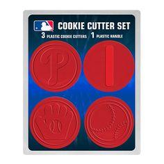 Philadelphia Phillies Cookie Cutter Set