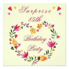 422 best heart birthday party invitations images on pinterest in