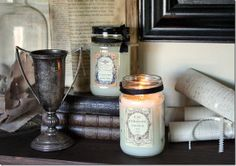 Folky Art Candles: Homestead and Patisserie http://wp.me/p3BRyy-1rT