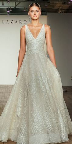 Let your beauty SHINE with bridal designs! Dream Wedding Dresses, Bridal Dresses, Wedding Gowns, Wedding Bride, Wedding Shit, Wedding Ideas, Lazaro Bridal, Strictly Weddings, Beautiful Gowns