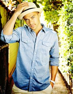 its his eyes and tan skin. wow. mmm Jackson Avery... Grey's Anatomy sexy sexy eye candy!