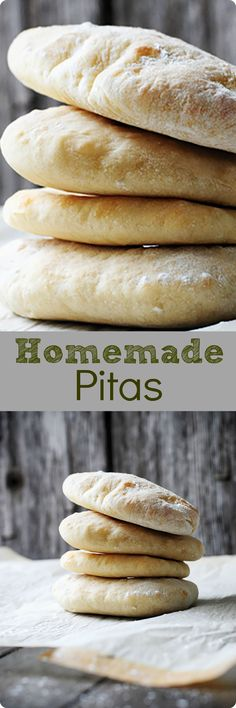Eaten plain, or with your favorite dip or fillings, this pita bread is sure to please! Find recipe at redstaryeast.com.