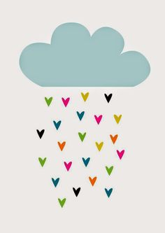 The cloud is the most emphasized feature of this poster. Graphic Prints, Art Prints, Karten Diy, Cute Illustration, Cute Wallpapers, Art For Kids, Iphone Wallpaper, Crafty, Wall Art