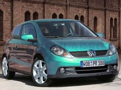 VW Lupo - Dream Car!  & I love the color of this one! ♥