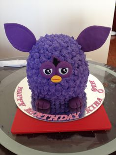 Furby Boom White Chocolate Cake