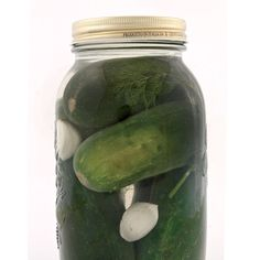 I really want to try making my own pickles this summer. This recipe for half sour pickles looks pretty simple. Thanks, Simons Garcia magazine! Canning Pickles, Canning 101, Home Canning, Canning Recipes, Pickles Recipe, Pickeling Recipes, Homemade Pickles, Canning Food Preservation, Preserving Food