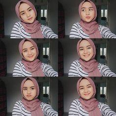 Modern Hijab Fashion, Street Hijab Fashion, Hijab Fashion Inspiration, Casual Hijab Outfit, Ootd Hijab, Girl Hijab, Selfies, Selfie Poses, Selfie Ideas