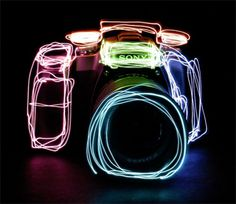 the cool things you can do with a camera and some lazer lights.