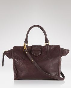 MARC BY MARC JACOBS Tote - Carob Brown - Flipping Out | Bloomingdale's