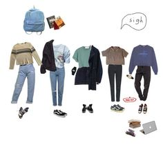 """""""school :/"""" by lun-ors ❤ liked on Polyvore featuring American Apparel, Topshop, Brandy Melville, Casio, StyleNanda, Vans, Converse, Hilfiger, Dior Homme and Valentine Goods"""