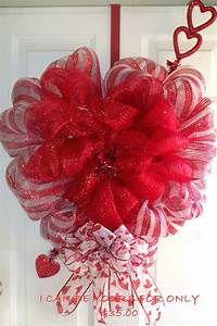 16 Best Photos of Valentine Wreaths For Front Door - DIY ...