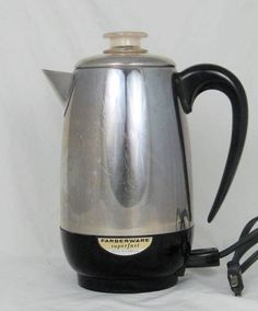 Visualize what you want to buy at a thrift store... Last night's $2.99 indulgence - A Farberware Percolator. JC Penney priced at $75. Cha-Ching! Stuff the pig, baby.  www.buildingapowerfulvisionboard.com