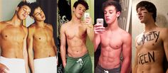 Jake T. Austin works out shirtless in The Fosters... - Famous Meat Tumblr