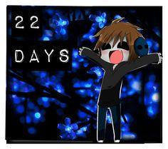"""CreepyPasta Christmas Countdown ( 22 days"" by xxsilentsilverxx ❤ liked on Polyvore featuring art"