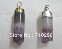 Charming pendants 5pcs/lot Natural Amethyst Quartz drusy crystal jewelry pendants.Free shipping $19.90