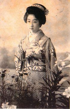 萬龍(明治時代の美人ランキング)の拡大画像
