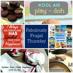 Fabulously Frugal Thursday Linky Party #73 | A Life in Balance