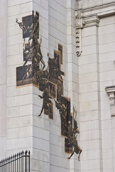 Office Supplies Incorporated, Dancers - Vancouver Art Gallery Installation, 2011, Collage screenprints intalled, Roughly 20' x 30'
