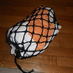 how to make a paracord bag