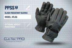 PPSS #SlashResistantGloves (Atlas) with optional #needleresistance