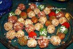 Fleur de Lolly: Mini-Cheese Balls