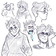 uwu sketches-- I LOVE MushieRoomie's newww styyllee Character Inspiration, Character Art, Michael In The Bathroom, Be More Chill Musical, Michael Mell, Theatre Nerds, Theater, Cute Art Styles, Cute Drawings