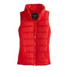 AE Classic Puffer Vest  OK...I really LOVE this vest!