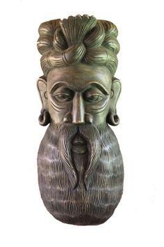 Shop online for Brahmin - Wooden Carving. Unique one-of-a-kind art pieces. Art Pieces, Lion Sculpture, Carving, Statue, Unique, Handmade, Wood Carving, Sculpture, Craft