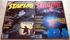 """For sale are:  STARLOG #37 (August 1980) Harrison Ford Interview Ray Harryhausen's """"First Men in the Moon""""  STARLOG #38 (Sept. 1980) CE3K Special Edition Ray Harryhausen's """"Clash of the Titans"""" George Pal Retrospective Buck Rogers Episode Guide De Forest Kelly Interview  Both magazines are in very good condition.There are no tears (except for a small tear near center of right edge of cover on #38 - see photo), no loose pages, the front and back covers are still bright."""