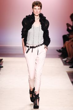 Isabel Marant Spring 2014 Ready-to-Wear Fashion Show - Saskia de Brauw (Viva)