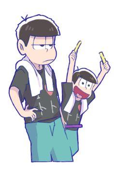 Ichimatsu and Jyushimatsu