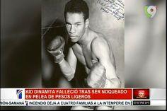 ¡Historia Dominiana! Kid Dinamita boxeador Dominicano, falleció tras ser noqueado en una pelea de pesos ligeros
