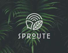 Logo Branding, Branding Design, S Logo Design, Logo Design Trends, Tea Logo, Agriculture Logo, Fleur Design, Identity, Organic Logo
