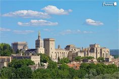 Palais des Papes: In 1309 the city, still part of the Kingdom of Arles, was one of the largest and most important medieval Gothic landmarks in Europe. Avignon became the seat of Western Christianity during the 14th century when Pope Clement V made it his residence.