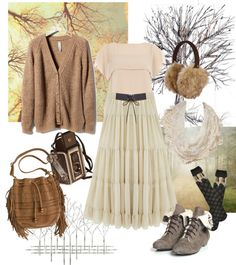 """Mori Girl/Forest Girl"" by gabbyfrancis on Polyvore"