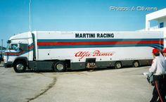 Martini Racing, Racing Team, Courses, Alfa Romeo, Trailers, Race Cars, Transportation, Trucks, Women's Fashion